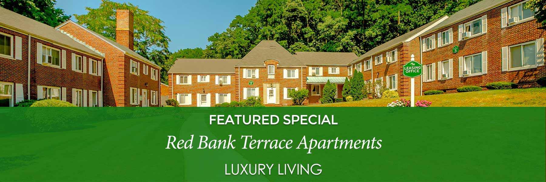 Red Bank Terrace Apartments specials